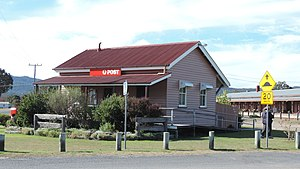 Wallangarra, Queensland - Climate data is recorded at the Wallangarra Post Office