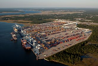 Port of Charleston - Wando Welch Terminal