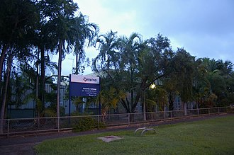 Wanguri, Northern Territory - Casuarina Exchange located at Wanguri.