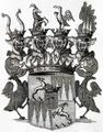 Wappen der Reichsgrafen von Enzenberg zum Freien- und Jöchelsthurm 1764.png
