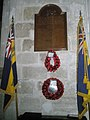 War Memorial within St Mary, Stoughton - geograph.org.uk - 1125158.jpg