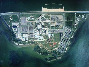 Ward Island (Texas) - Ward Island in 2002