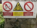 Warning sign in Brno.JPG