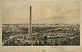 Washington DC with proposed Washington Monument 1852.jpg