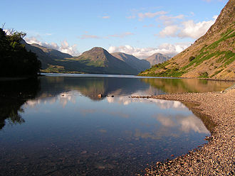 Wasdale - Image: Wast Water in the evening