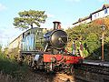 Watchet - 5542 down train.JPG