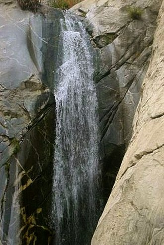 Tahquitz Canyon - Image: Waterfall, Tahquitz Canyon, Palm Springs