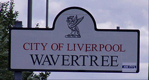 Wavertree - Image: Wavertree Sign