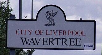 Wavertree - Image: Wavertree Sign