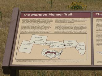 Mormon Trail - Historic Information along the National Historic Trail