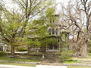 Webster Wagner House - Webster Wagner House, April 2010