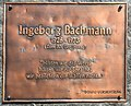 Weitensfeld Zammelsberg Dichtersteinhain Gedenktafel fuer Ingeborg Bachmann 11042016 1328.jpg
