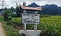 Welcome gate to Nanggar Jati Huta Padang, Arse, Tapanuli Selatan 01.jpg