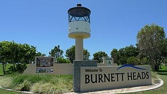 Burnett Heads, Queensland - Entering Burnett Heads