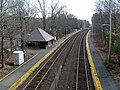 Wellesley Farms station from Glen Road, April 2016.JPG