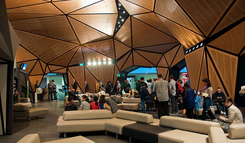 File:Wellington Airport's new international gate lounge, 26 Nov. 2010 - Flickr - PhillipC.jpg