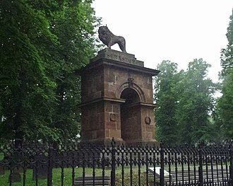 Old Burying Ground (Halifax, Nova Scotia) - Triumphal arch - Crimean War