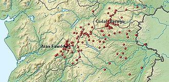 Berwyn range - Bala, Gwynedd to Welshpool