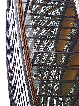 Weltstadthaus (Cologne) - Façade construction of the Weltstadthaus