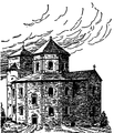 Western Europe in the Middle Ages page 55 Charlemagne's church in Aachen.png
