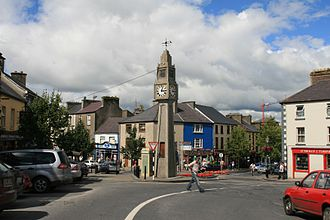 Westport, County Mayo - The Clock Tower in the town centre
