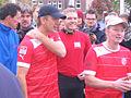 Wetten, dass - Markus Lanz läuft am 14. Oktober 2012 im Fortuna-Trikot von Düsseldorf nach Köln 8.jpg