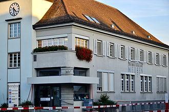 Zürcher Oberländer - newspaper building in Wetzikon