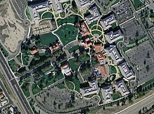 Aerial Photograph Of The Sun Headquarters Campus In Santa Clara California