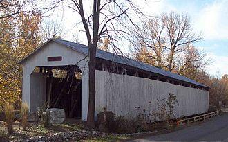 Wheeling, Gibson County, Indiana - Wheeling Bridge