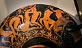 Wider circle of the Nikosthenes Painter ARV 135 13extra - Dionysos - Herakles tripod Apollon - orgy of satyrs (04).jpg