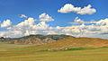 Widoki mongolskiego krajobrazu widziane z minibusa Karakorum - Ułan Bator (19).jpg
