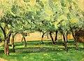 Wien-Innenstadt, Albertina, Paul Cézanne, Gehöft in der Normandie.JPG