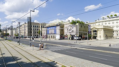 How to get to Karlsplatz, Wien with public transit - About the place