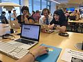 Wiki Loves Pride with Black Lunch Table @ MoMA Library 04.jpg