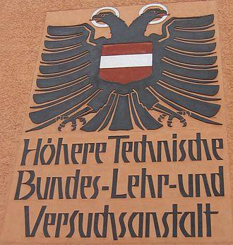 Höhere Technische Lehranstalt - The coat of arms of the HTL Bregenz