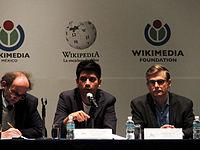 Wikimanía 2015 - Day 2 - Press Conference - LMM - México D.F. (14).jpg