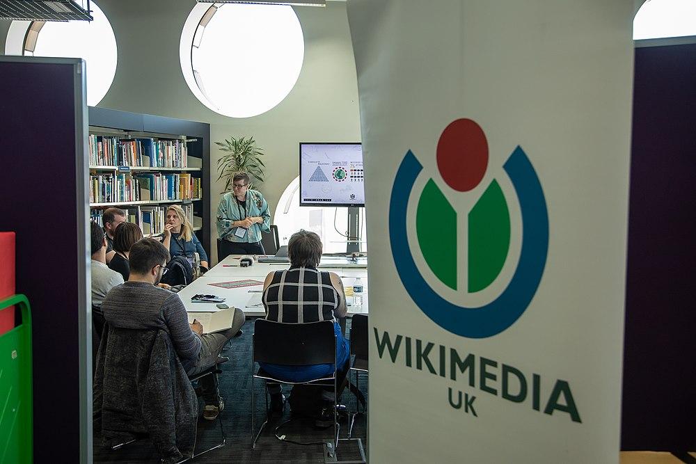 Wikimedia UK at Mozfest 2018 04.jpg