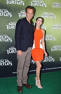 Will Arnett, Megan Fox (15141379056).jpg