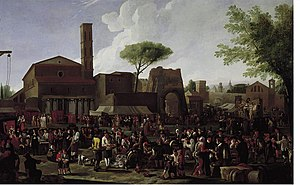 Willem Reuter - A Roman market