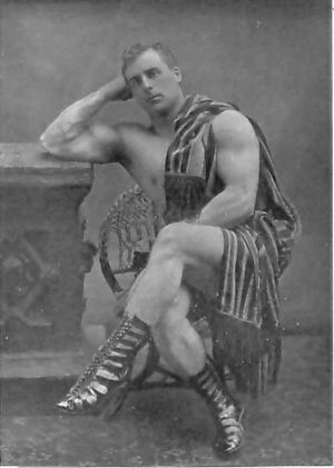 William Bankier - Bankier as 'Apollo, the Scottish Hercules'
