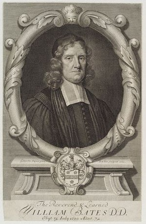William Bates (minister) - William Bates, engraving by Robert White after Godfrey Kneller.