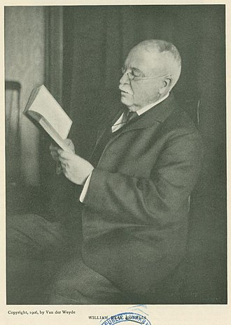 William Dean Howells - Image: William Dean Howells 1906