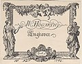 William Hogarth's Trade Card (modern reproduction) Met DP885238.jpg