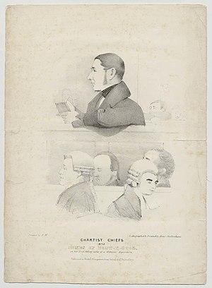 William Jones (Chartist) - Jones on trial
