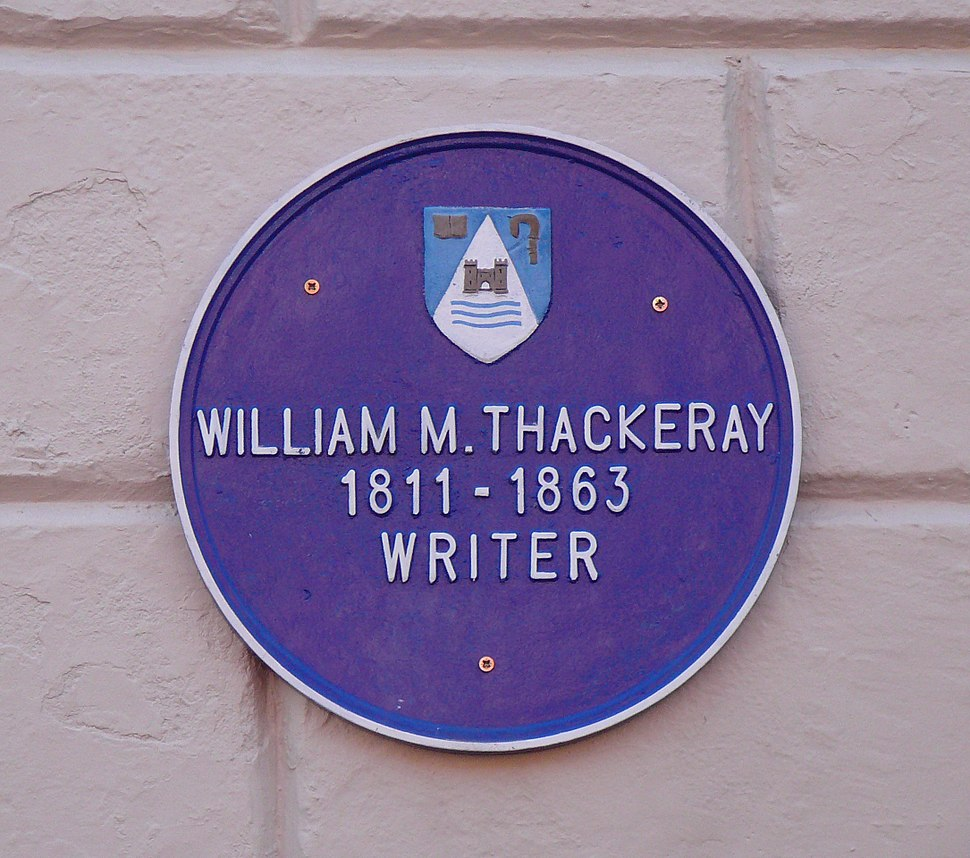 William Thackeray plaque, Lismore, Co. Waterford, Ireland