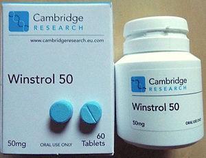Stanozolol - Stanozolol 50 mg tablets