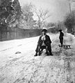 Winter, snow, sledge Fortepan 55296.jpg