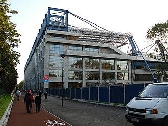 Stadion Miejski, Kraków - Wisła Stadium façade