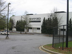 Wofford Terriers - Image: Wofford Johnson Arena 1