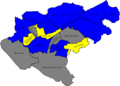 Woking 2007 election map.png